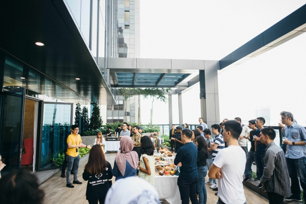 Timothy Tiah, co-founder and CEO of Colony, welcoming Carsome to their new headquarters at Colony @ Mutiara Damansara.