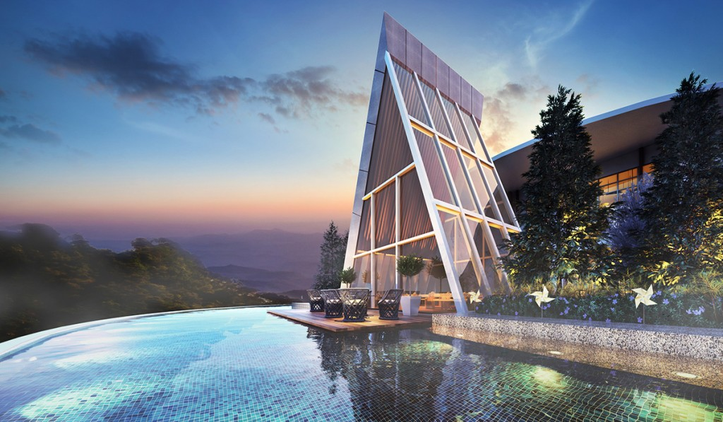 Multiple facilities, landscape designed podium and sky decks provide a tranquil living amidst nature's luxurious greens.