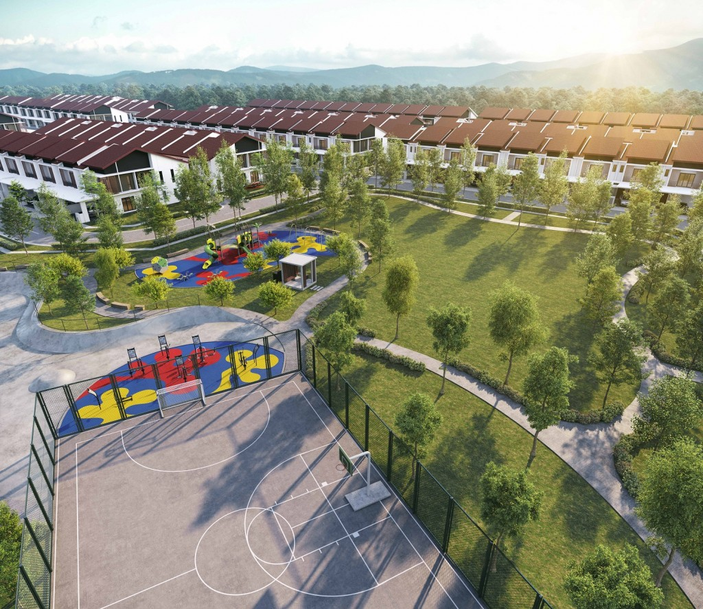 Crisantha has a gross development value of RM137.5mil.