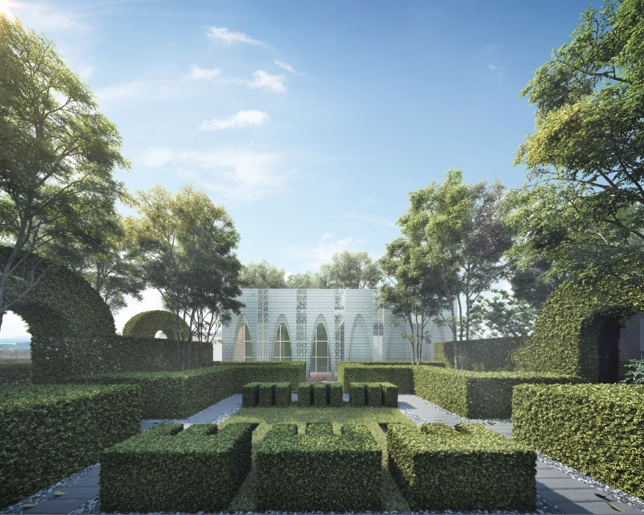 Embraced by 2.2 acres of lush greenery, Ryan & Miho is designed to fulfill the criteria of the Green Building Index.