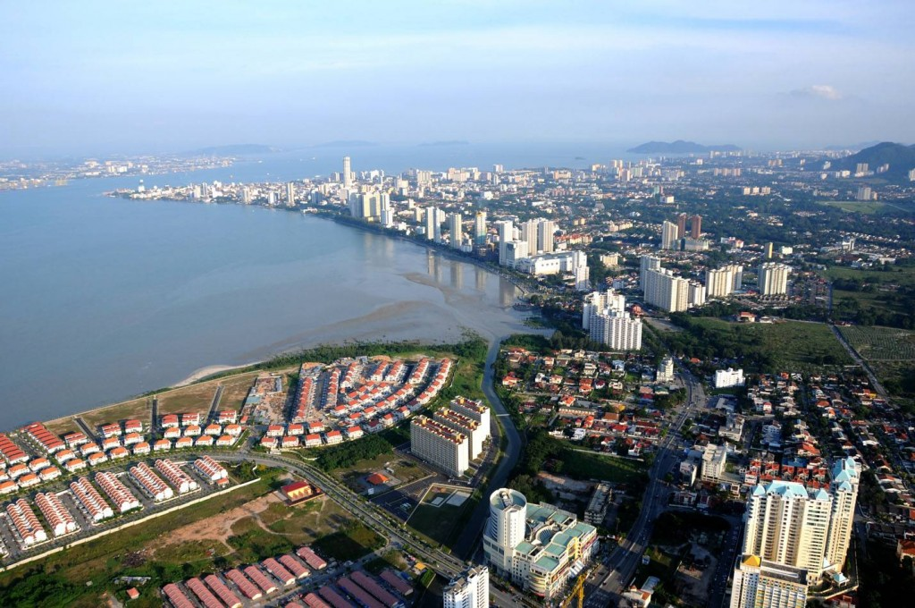 George Town viewed from Tanjung Tokong. Image by Don Law.