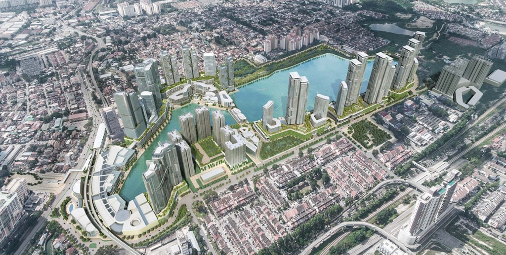 An artist impression of Lake City @ KL North.