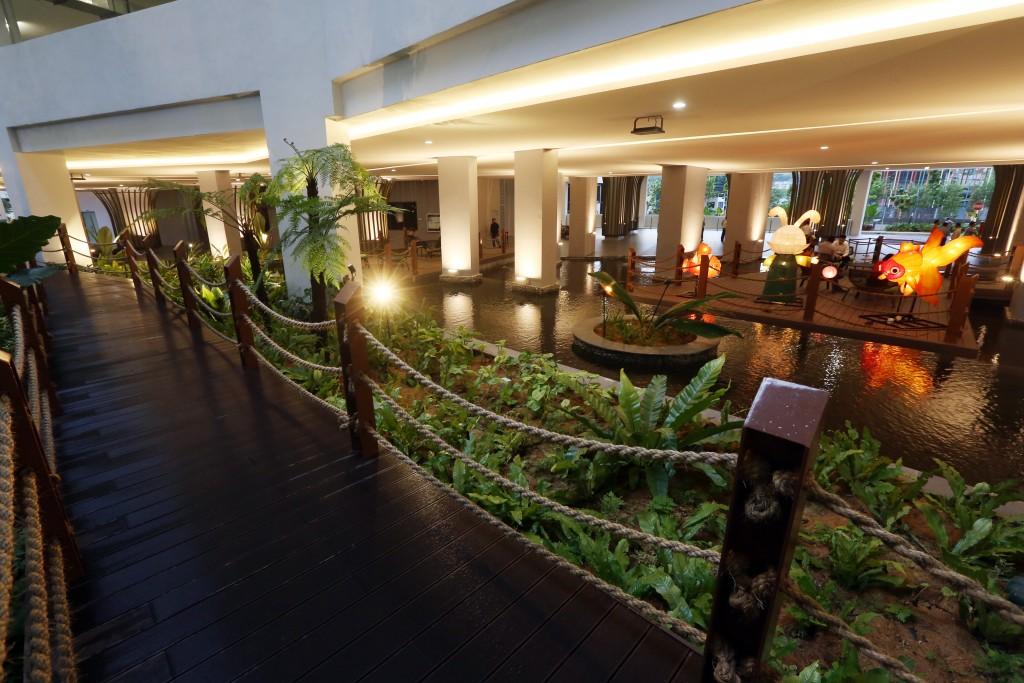 Rain Forest Lounge - Skyworld Bennington Residences media tour @ SkyArena in Setapak, Gombak, Kuala Lumpur. IZZRAFIQ ALIAS / The Star. October 23, 2019.