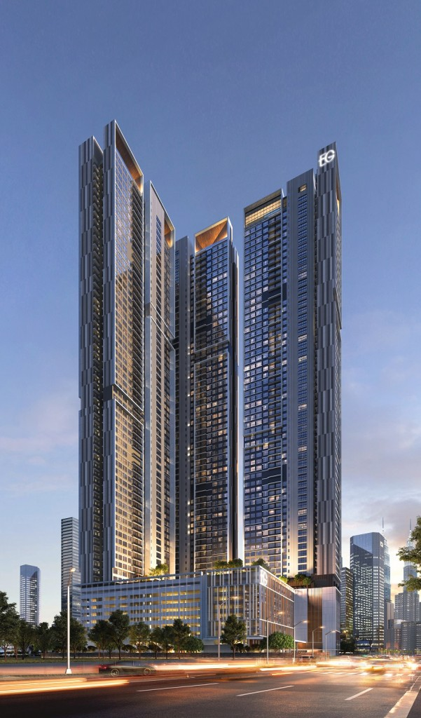 Towering at a height of 64 storeys, Agile Embassy Garden boasts a gross development value of RM1.8bil.