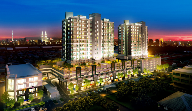 Hon Residensi spans 2.69 acres with a gross development value of RM120mil.