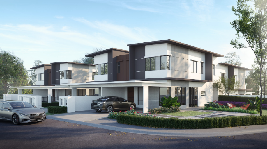 Artist impression of the residential units.