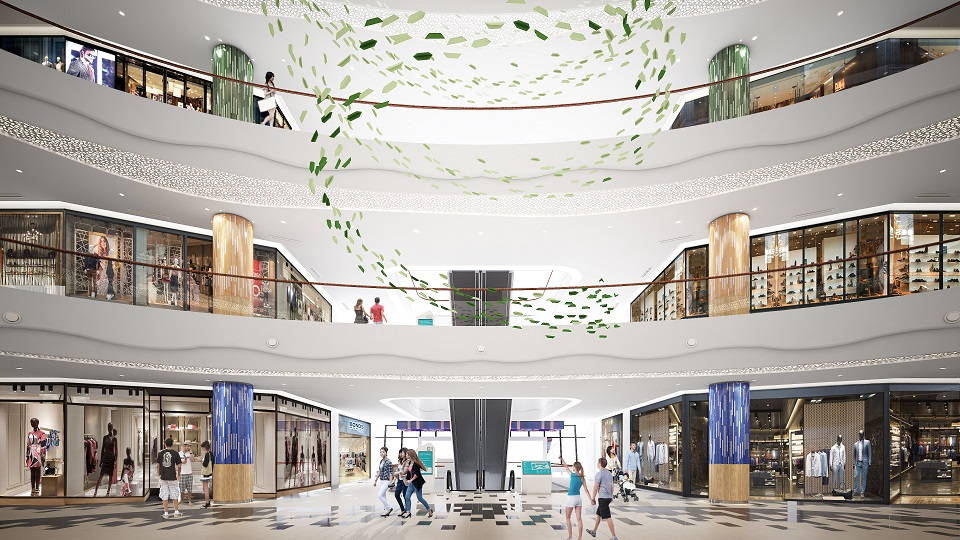 The new KL East Mall has a nett lettable area of 384,210 sq ft with 200 retail outlets spread across four retail floors.