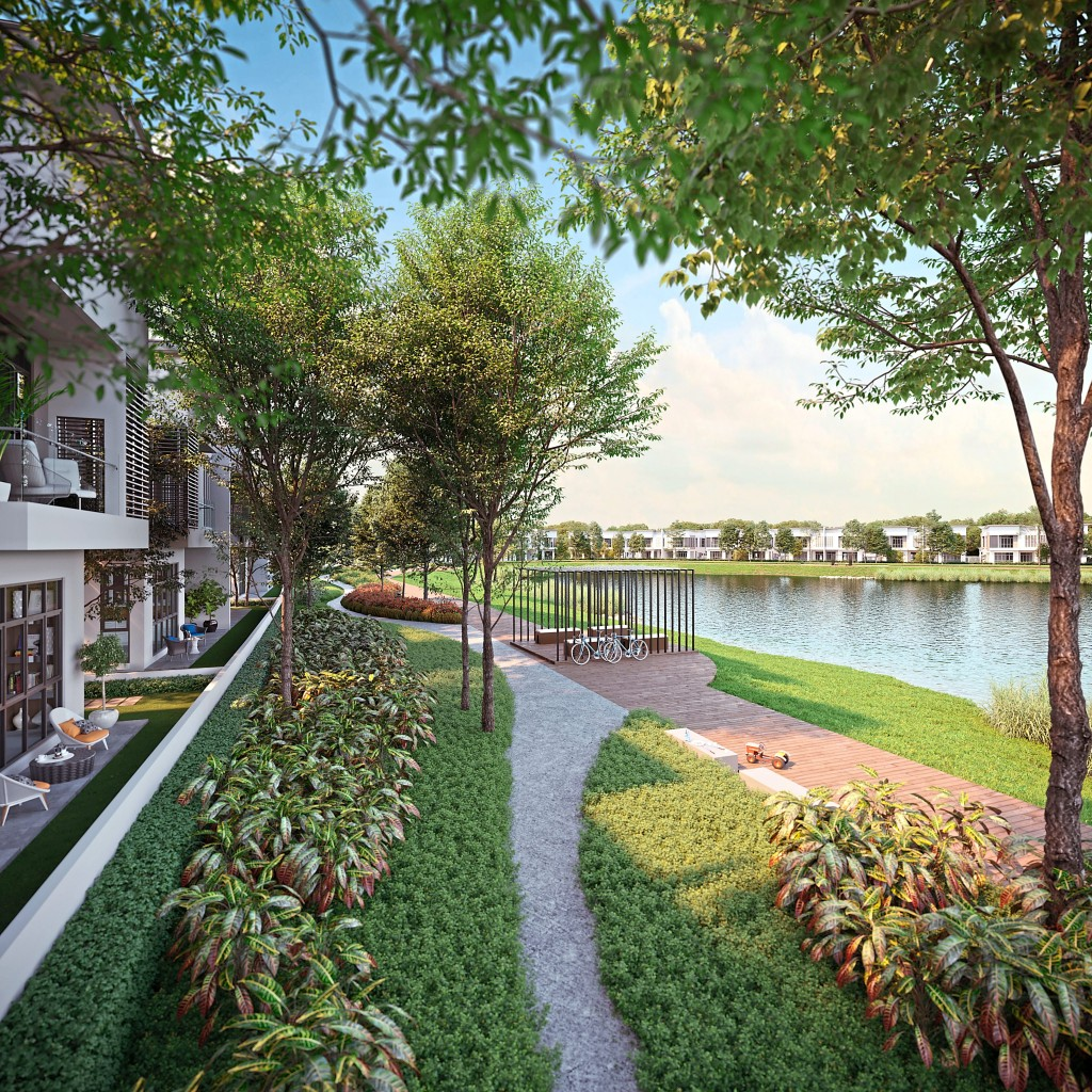 Sejati Lakeside offers quality family time, peace of mind, and easy access to every need.