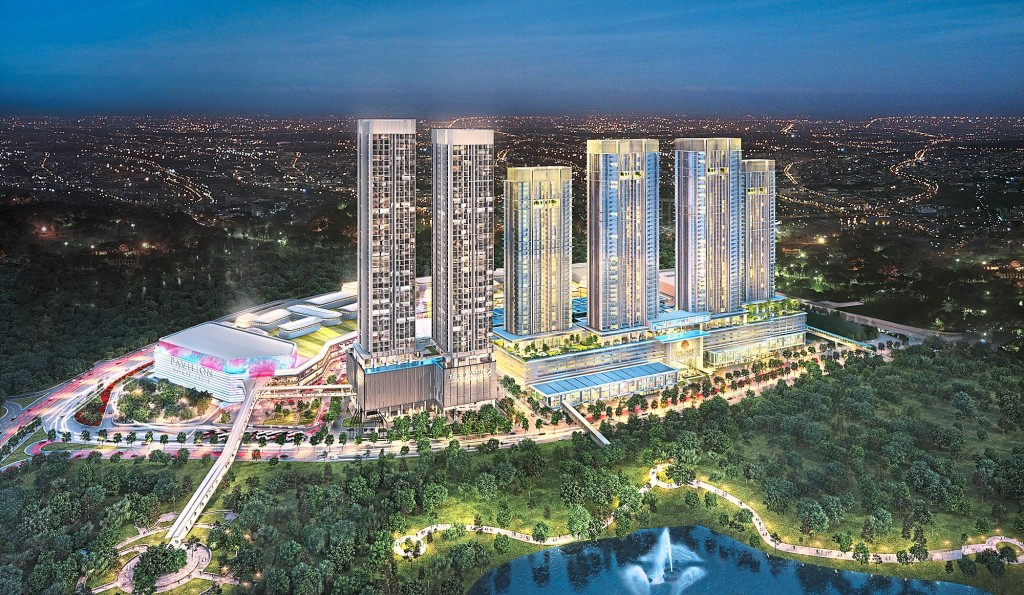 An artist impression of Bukit Jalil City. The mall which will open its doors next year will bring vibrancy to the development.