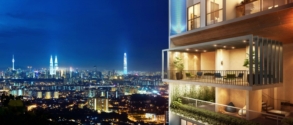 Besides being highly accessible, Trion @ KL also offers an amazing skyline view dwellers to relax amid the hustle and bustle of life in the city.