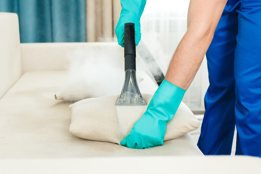Add disinfecting chemicals to your steam cleaner if the steam temperature is not hot enough to disinfect.