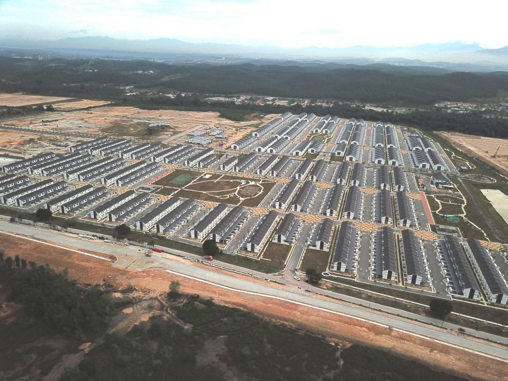 The developments, Simfoni Perdana and Irama Perdana were delivered nine months ahead of schedule.