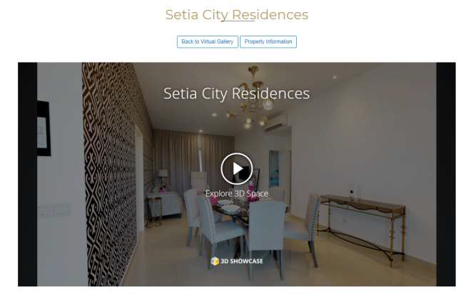Sample of a Virtual Tour on StarProperty's website. To view, click the link: https://www.starproperty.my/virtualhome