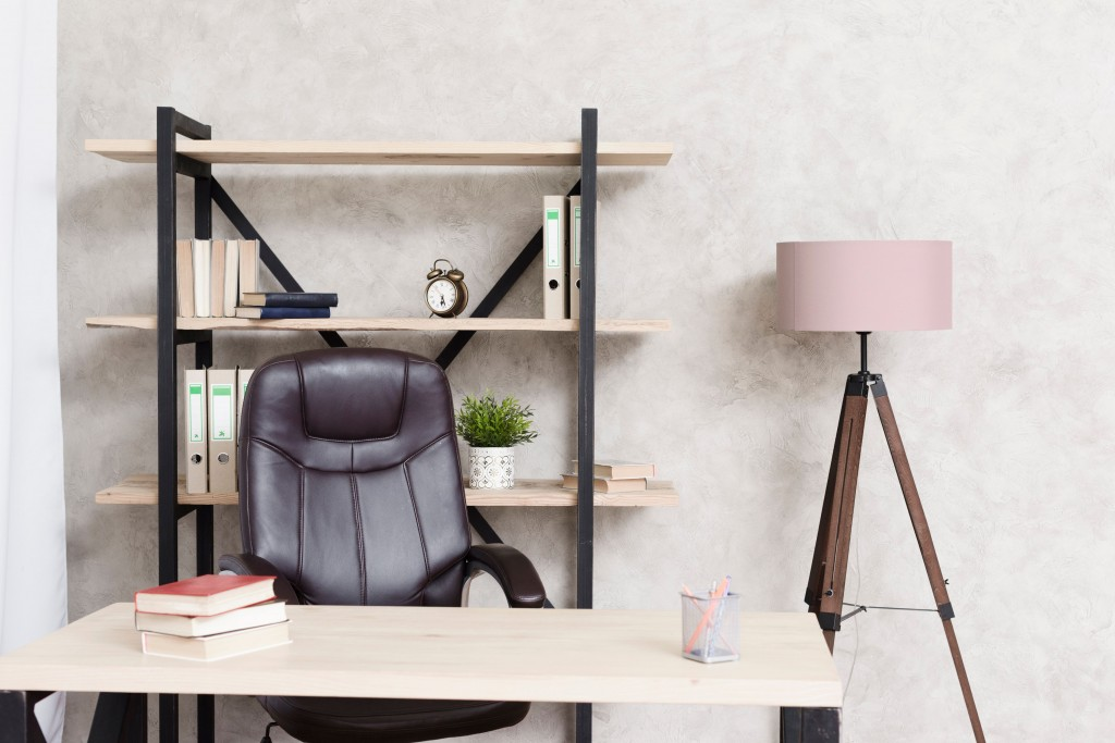 Create a mini-office space at home and isolate yourself to avoid distractions.
