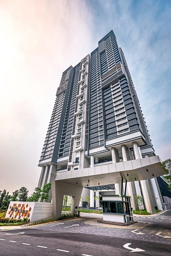 Secoya Residences stands majestically tall  like its namesake.