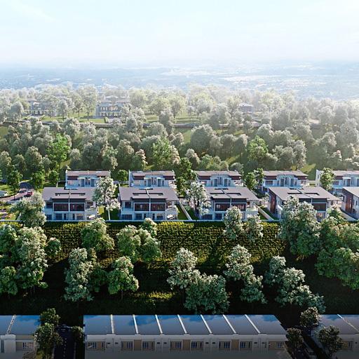 Ervina by Matrix Concepts overlooks the panoramic view of Ara Sendayan.