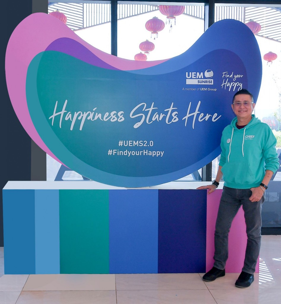 Home is where the happy is, says Wong