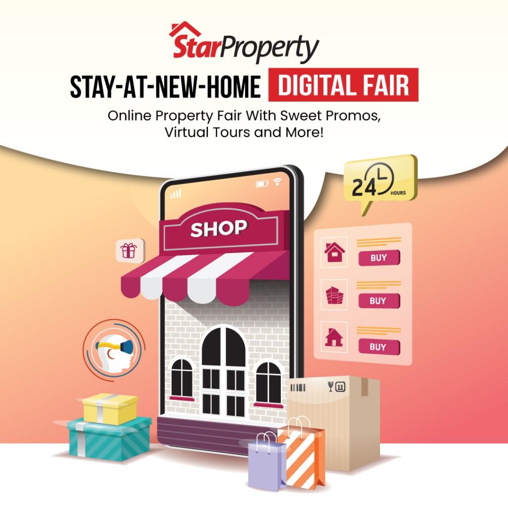 To visit the digital fair, click here: https://fair.starproperty.my/digital-fair/