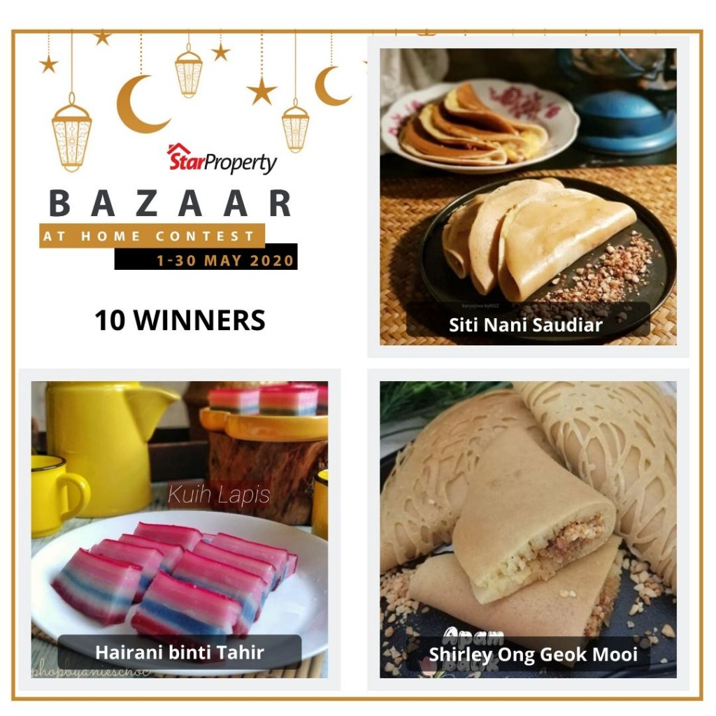 starproperty bazaar at home winners 1