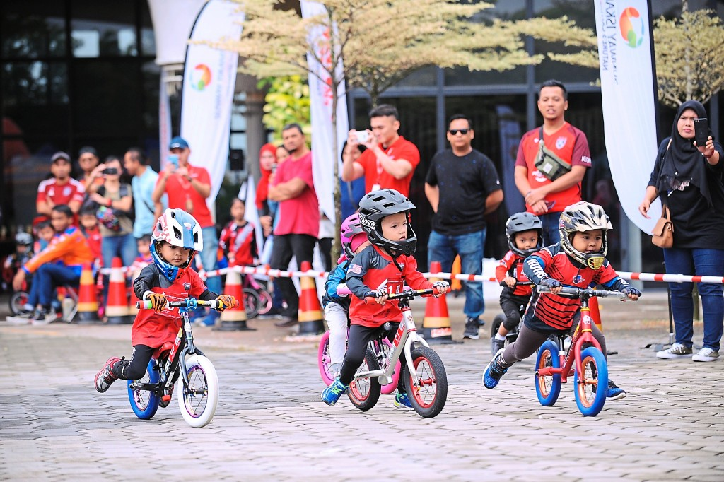Sunway Iskandar  Push Bike in  conjunction with  World Environment  Day 2019 - Sunway  Iskandar constantly  creates events to the  community together.