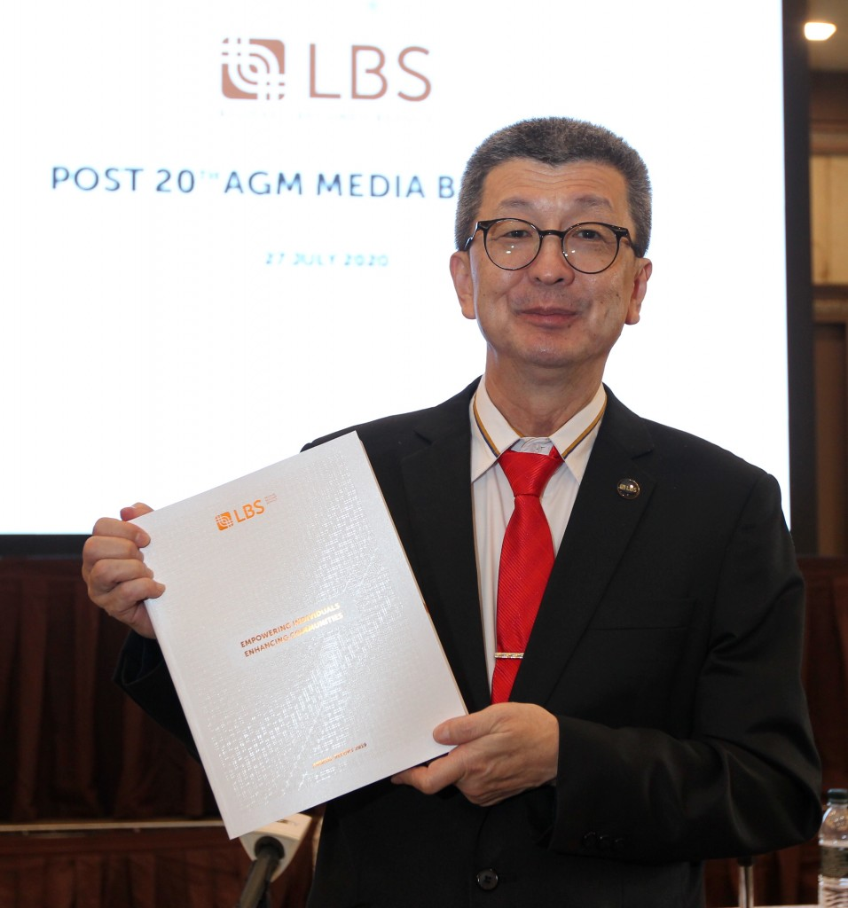 LBS has a total of 15 ongoing projects, says Lim