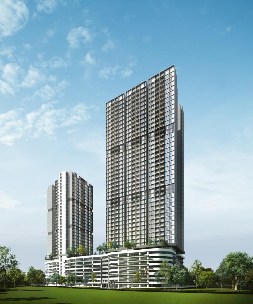 Built on a 2.4-acre site, Vista Sentul has a gross development value of RM308mil.