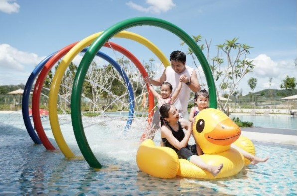 Family-friendly facilities at the Gardens Wellness