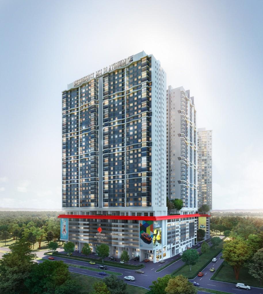 An artist impression of MH Platinum 2 Residences.