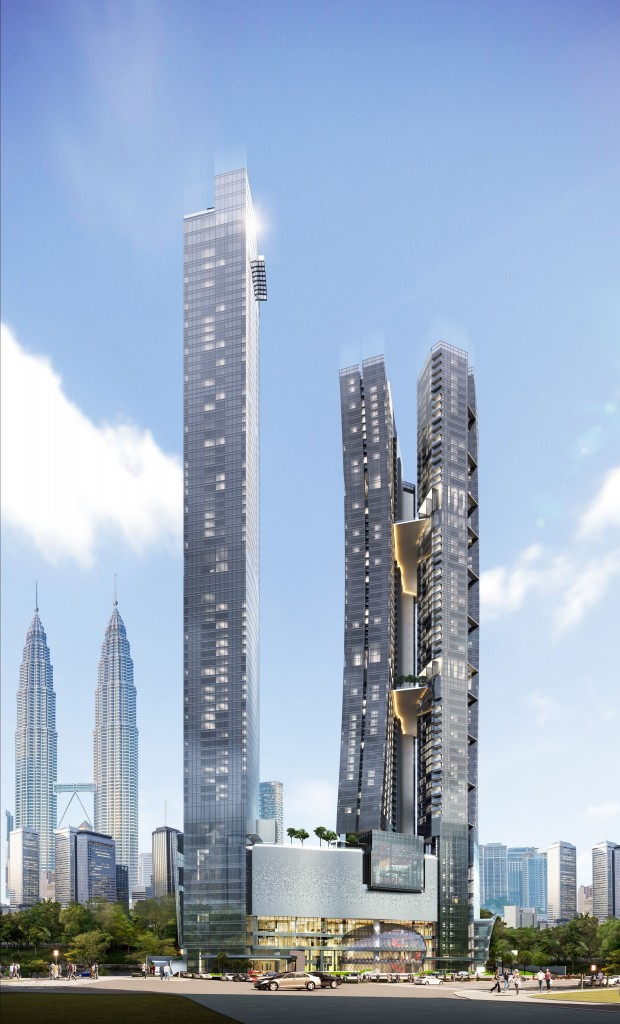 An artist impression of 8 Conlay Kempinski Hotel and Residences, which is expected to be completed in 2023.