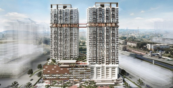 An artist impression of Astetica Residences.