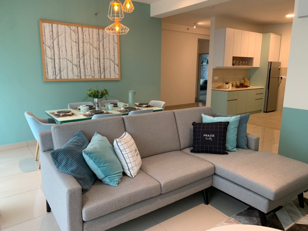 Stylish, modern design pairs with a conducive layout to maximise space.