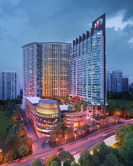 Registering at a gross development value of RM453mil, The Ooak Suites sits on freehold land at Jalan Kiara.