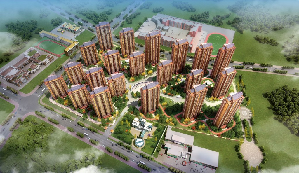 Phase 3 of Sunway Gardens Condominiums in Tianjin, China will be launched this year.