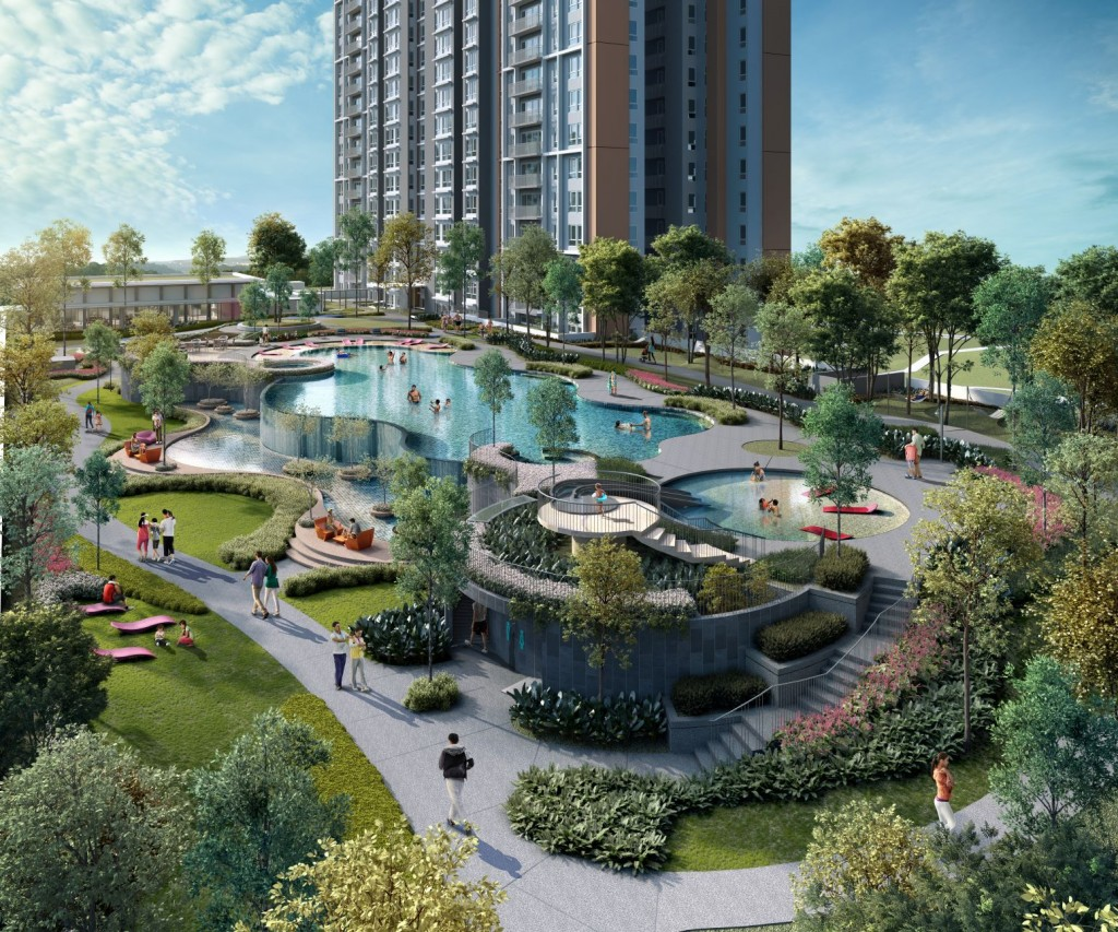The gated and guarded master-planned development offers an array of 68 facilities.