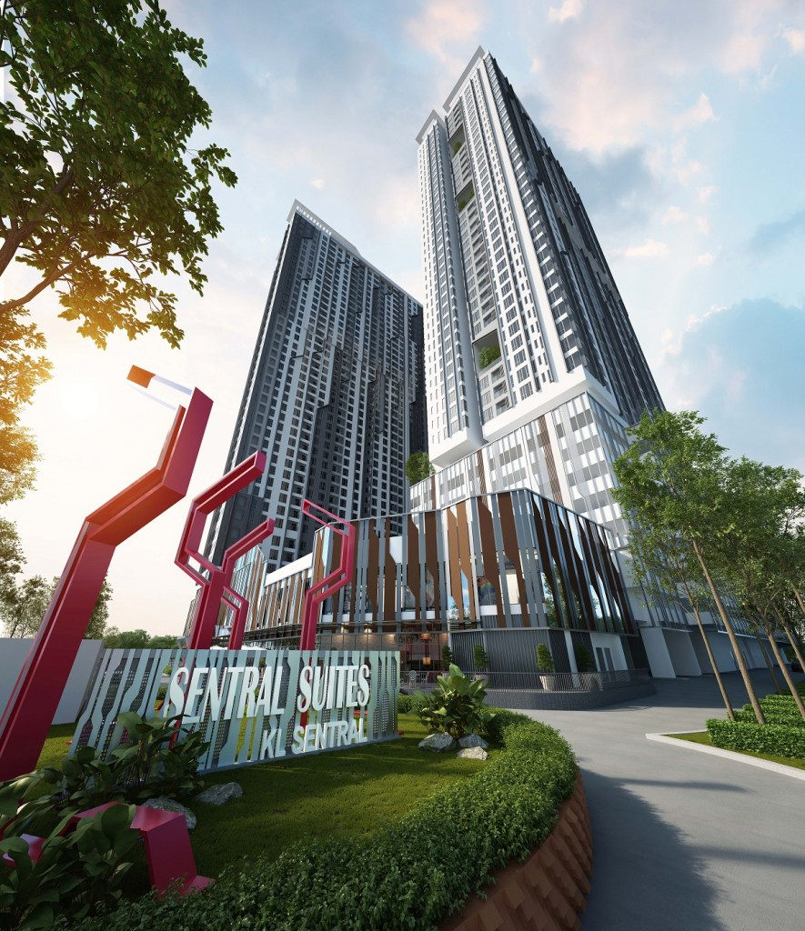 Elevated living is enhanced with the 15 sky gardens and 15 sky  pods interspersed across the three towers.
