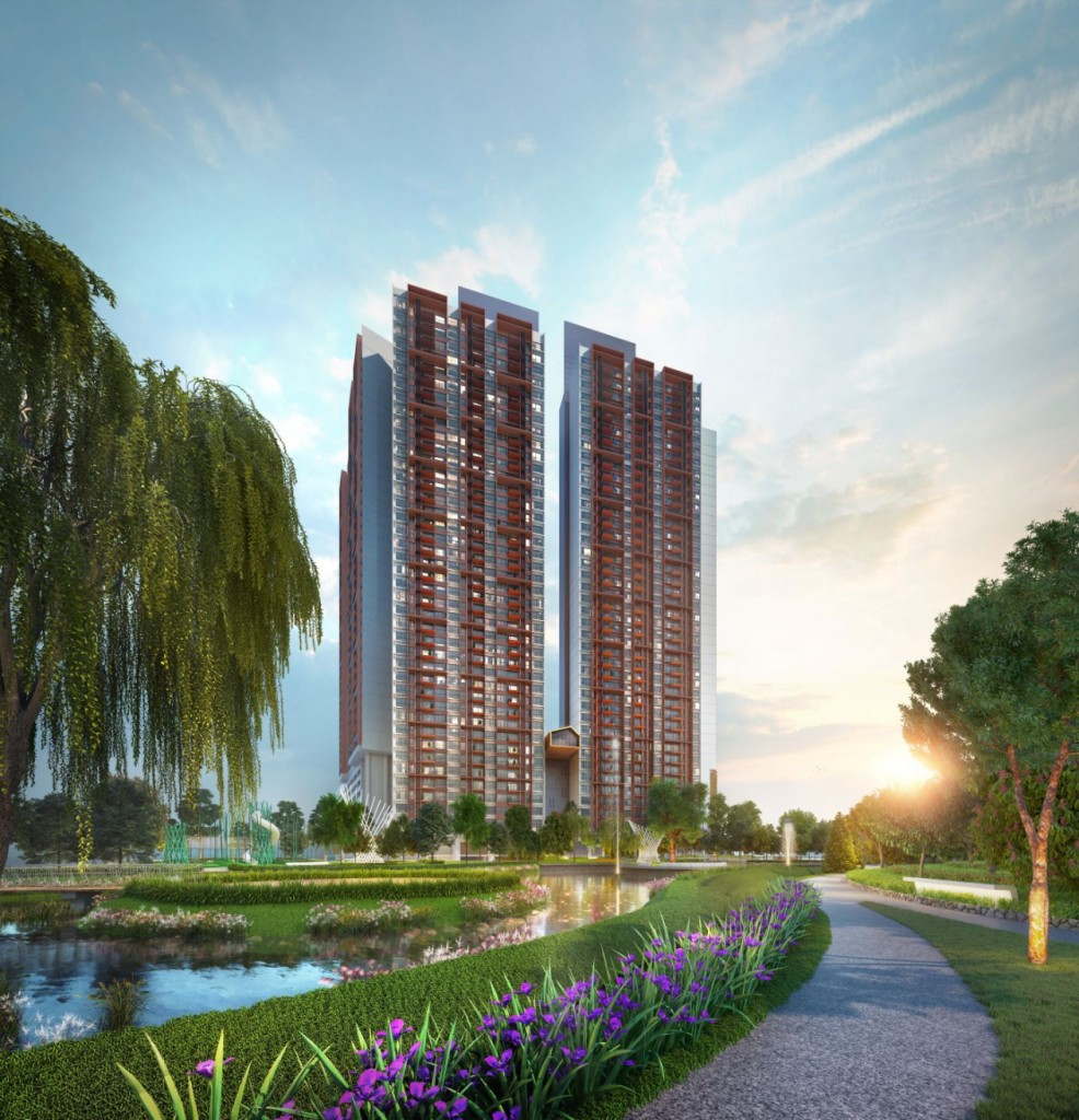 Artist impression of the EdgeWood Residences.