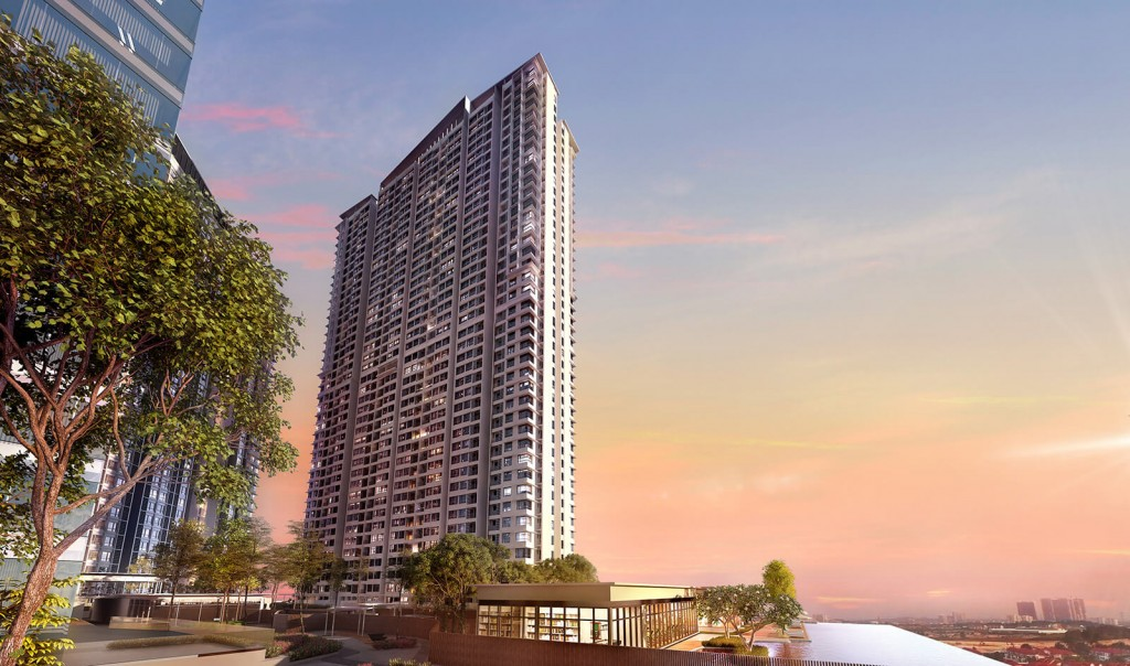 Sunsuria Forum Residential Suites registers at a gross development value of RM408mil.
