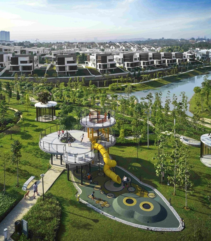 The campaign includes Blossom Springs superlink villas in Jade Hills.