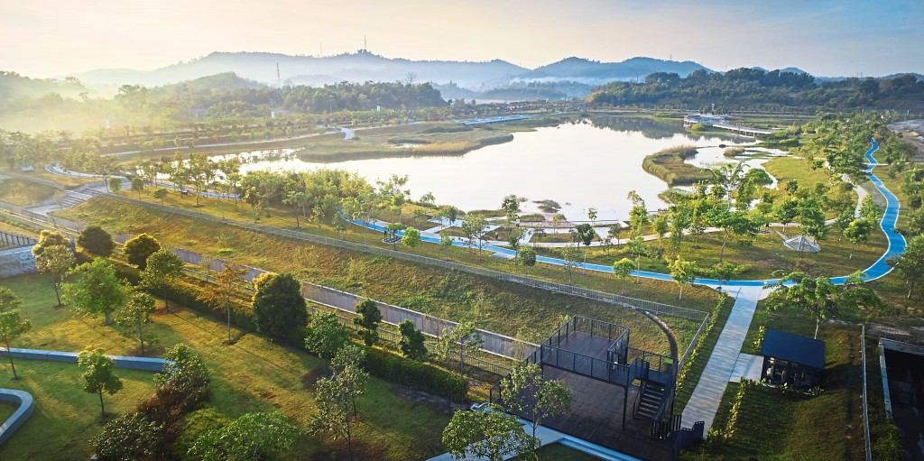 The Wetland Park is not just OSK Property's appreciation for nature, but it also offers a green and healthy lifestyle to residents.