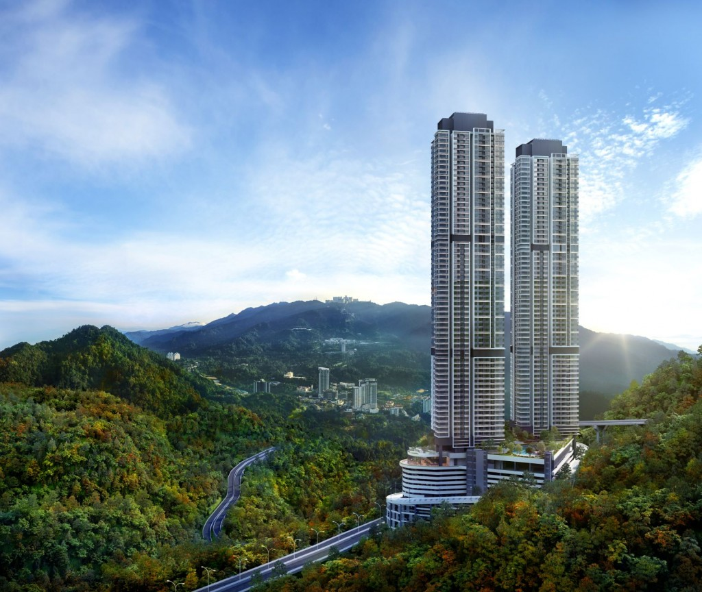 Standing tall in the cool valleys and hills of Genting Highlands are the TwinPines Serviced Suites.