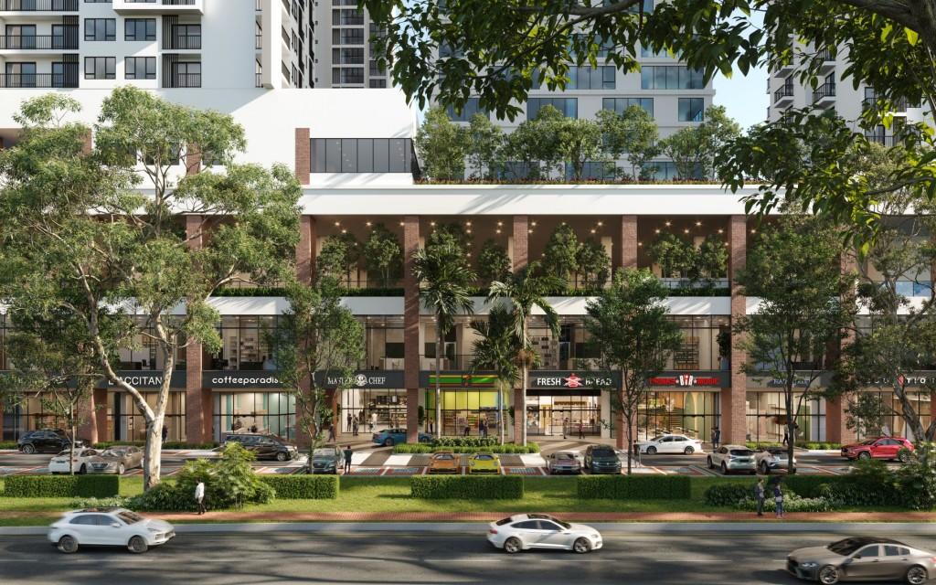 An impression of the retail front of edumetro in Subang Jaya.