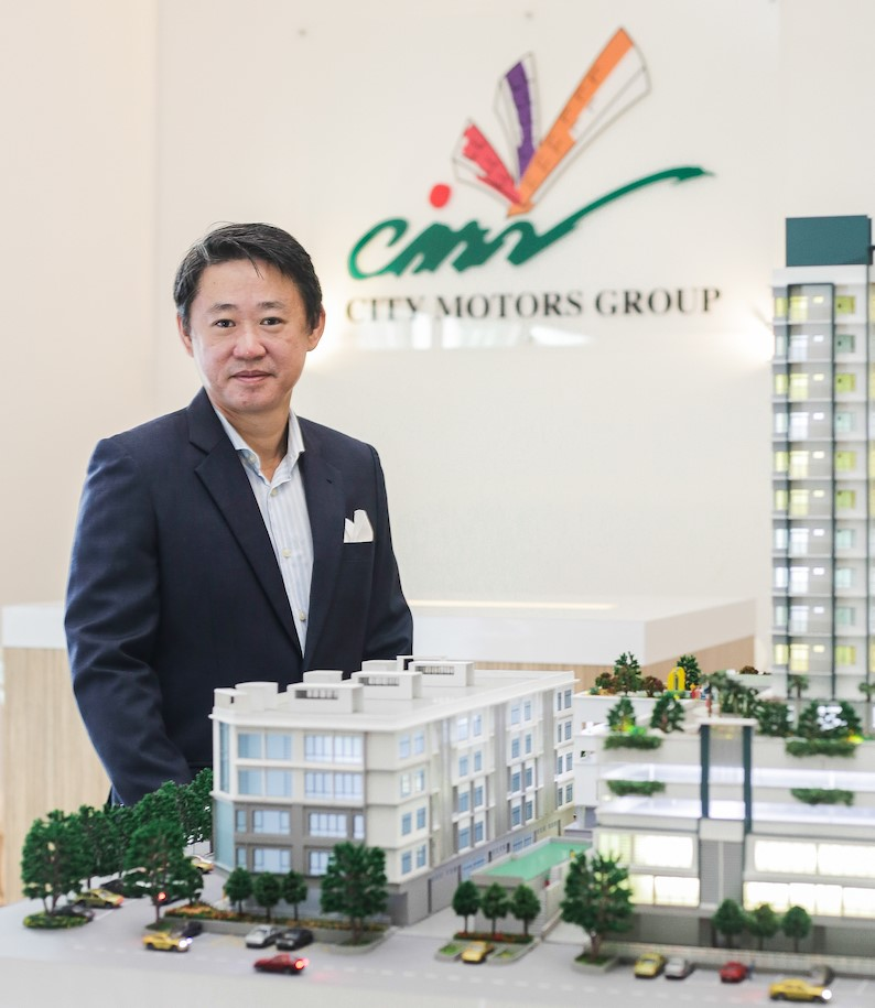 The project site was once the Alfa Romeo car showroom, said Chia.