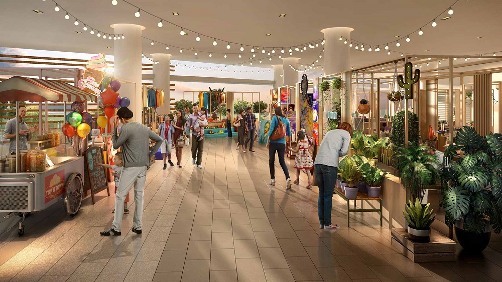 Revel in the hip nature of the semialfresco bazaar at level two of SouthPlace Shoppes, which promises a fun affair for all ages.