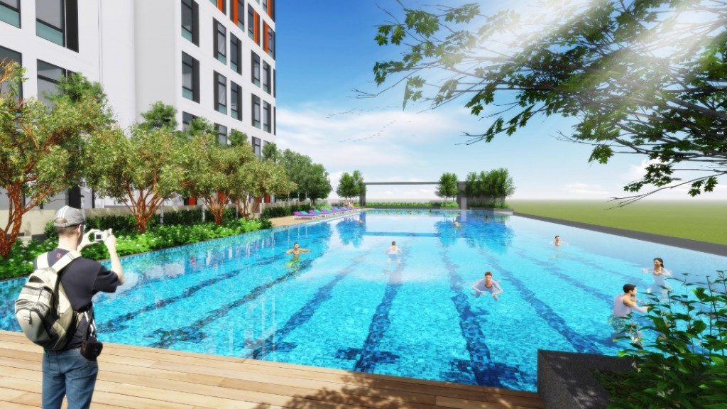 Filled with various facilities, Sunway GRID is designed to encompass all your living needs.