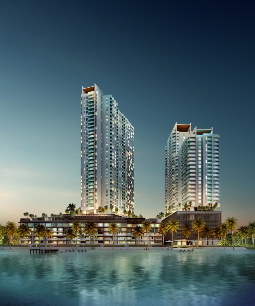 The residential component of Tropicana Cenang is shaped by premium quality residences carefully curated with a resort-style ambience.