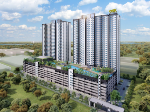 MIRA at Shorea Park stretches across 4.98 acres of freehold land, with a total of 908 units.