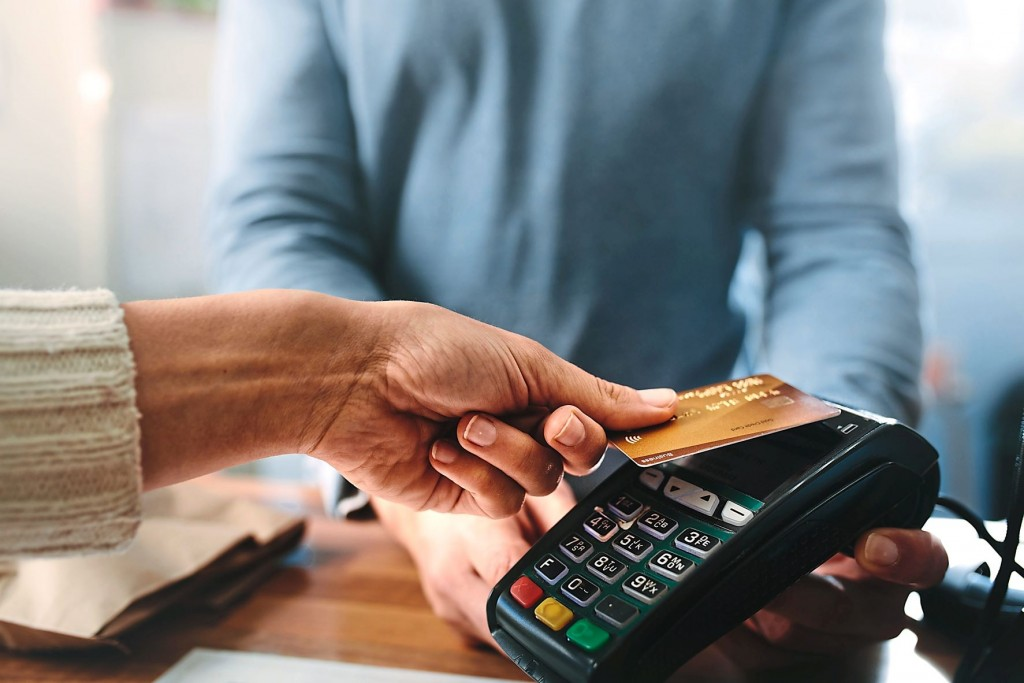 When using a credit card, try to make the minimum payment for each month if you cannot afford to pay  the entire sum.